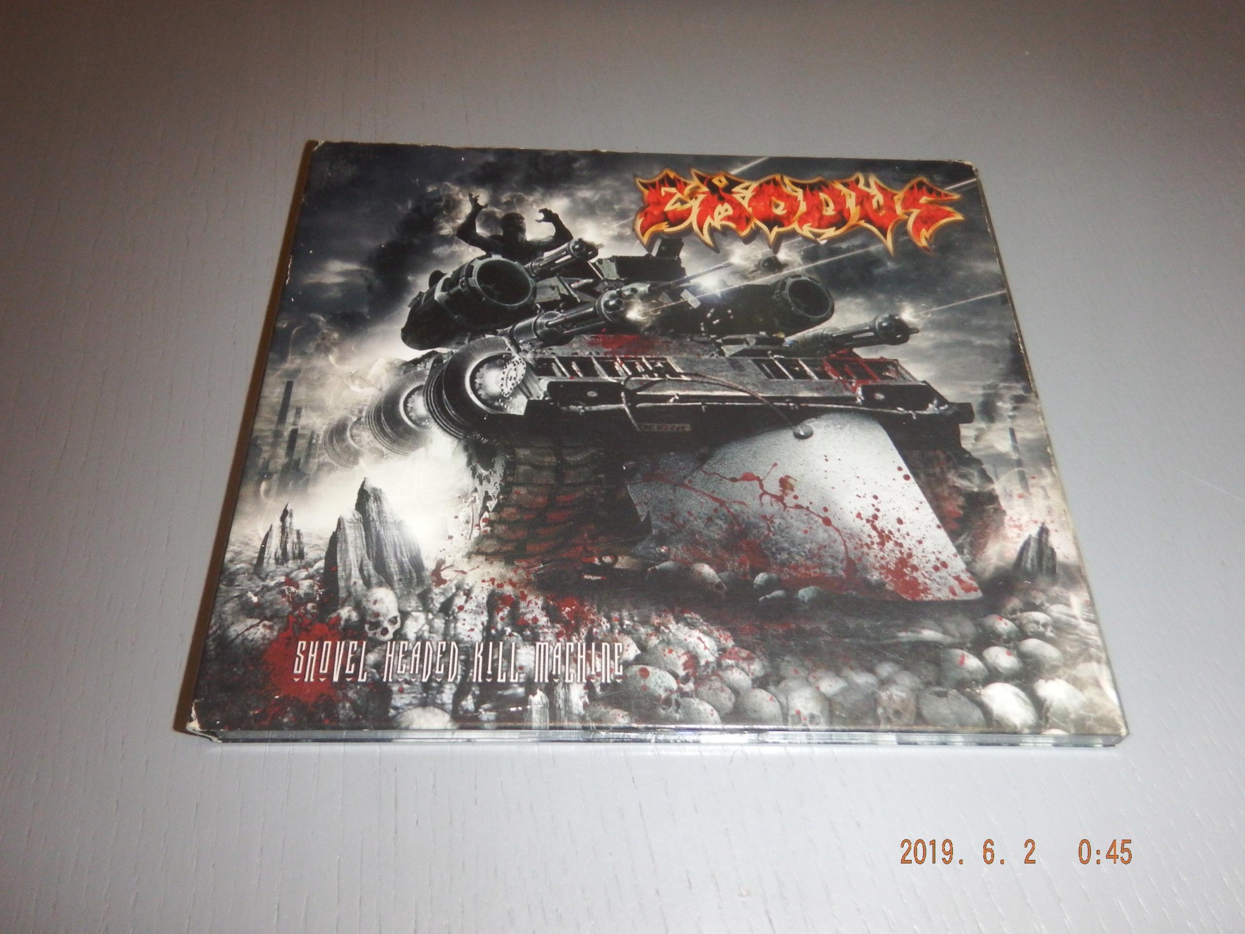EXODUS - Shovel headed kill machine DIGI