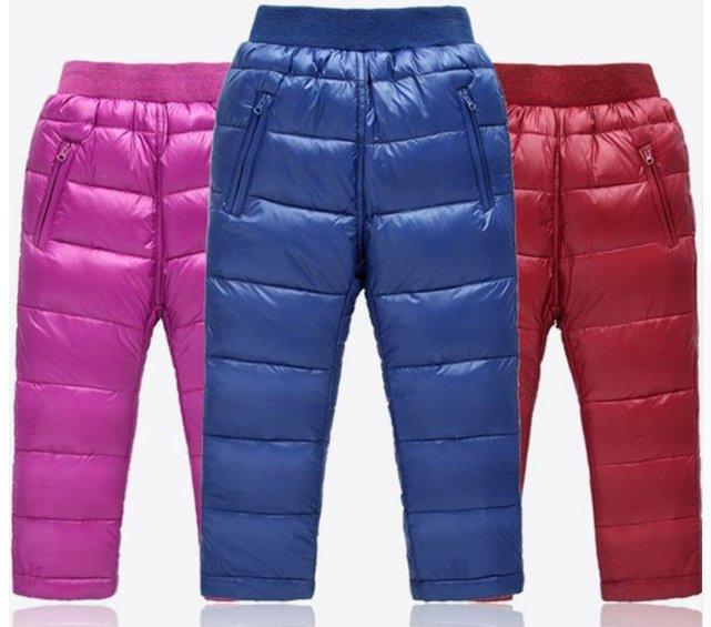 Groovy Spodnie ocieplane zimowe pikowane puchowe zima 110 - 7084018122 JY38