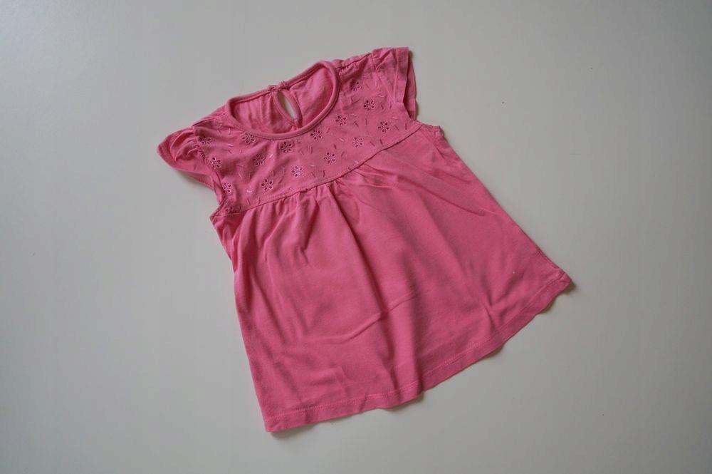 St.Bernard śliczna różowa bluzeczka 92cm