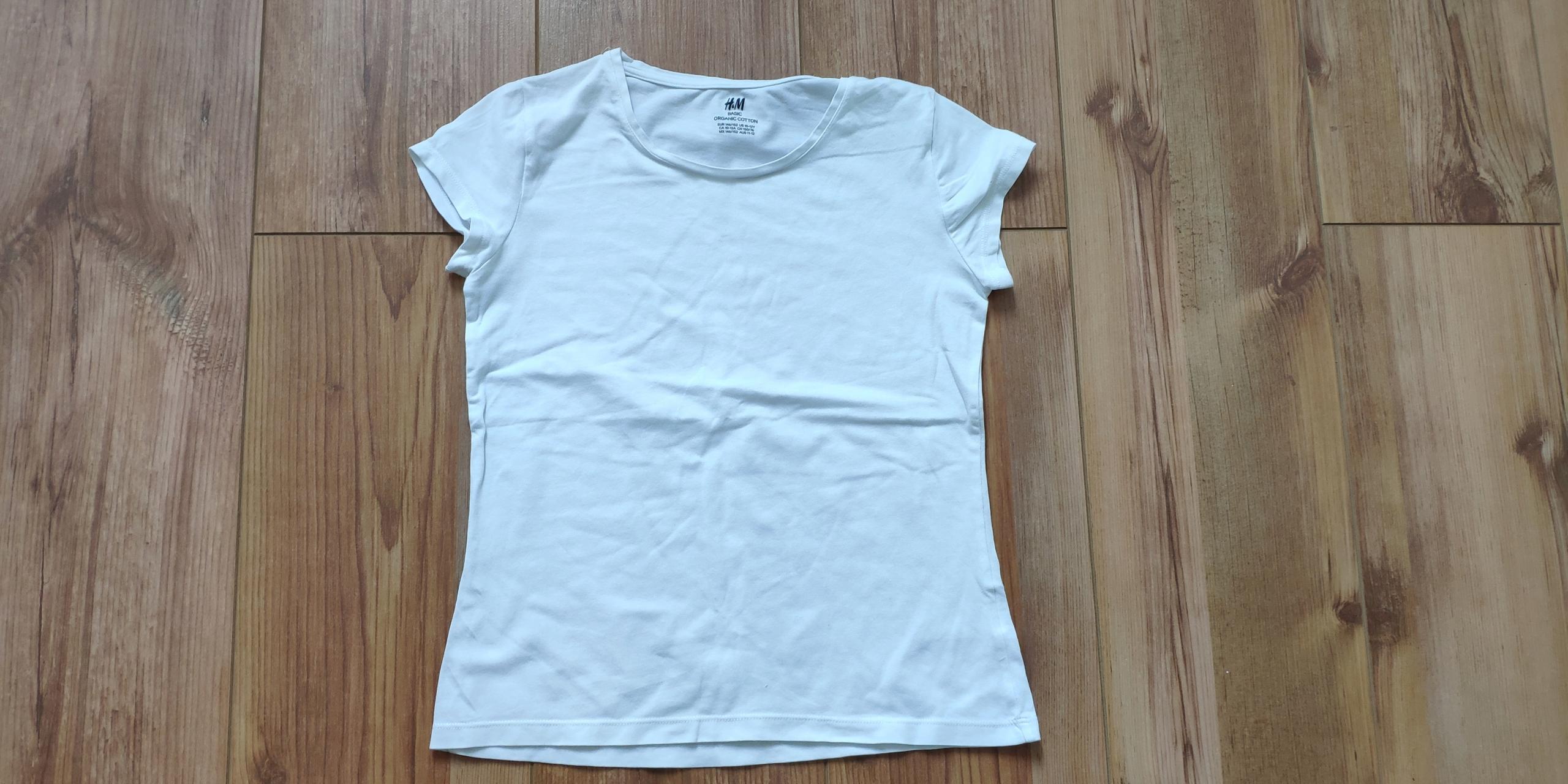 3 T-shirty z krótkim rękawem H&M rozm. 146-152