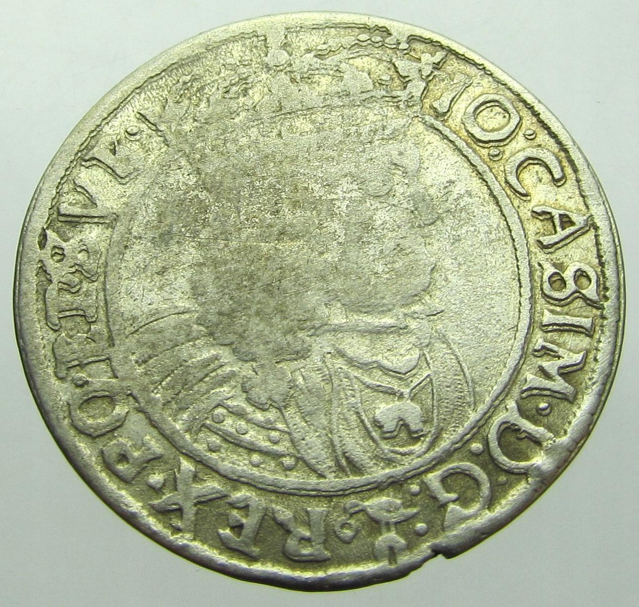 Jan Kazimierz Szóstak 1662 r. GBA Lwów
