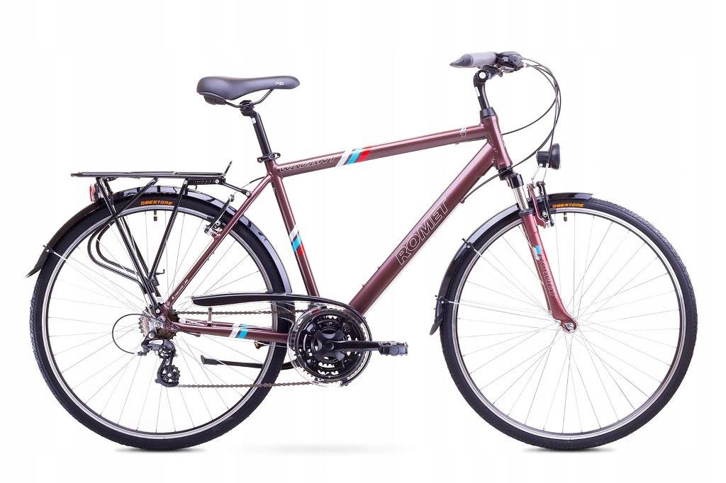 21 L Rower Trekkingowy ROMET WAGANT 1 brązowy