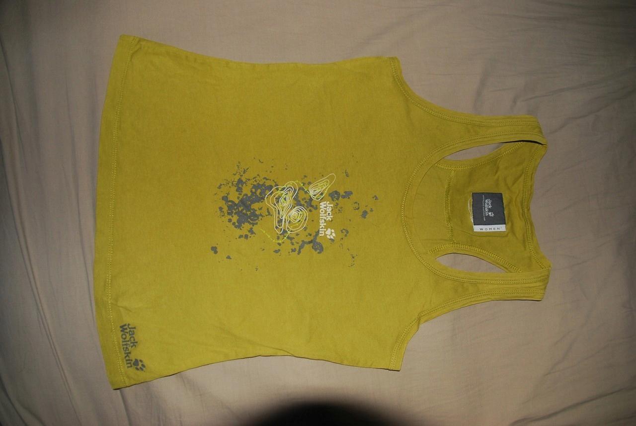 JACK WOLFSKIN Travel damska koszulka bez rękawów S