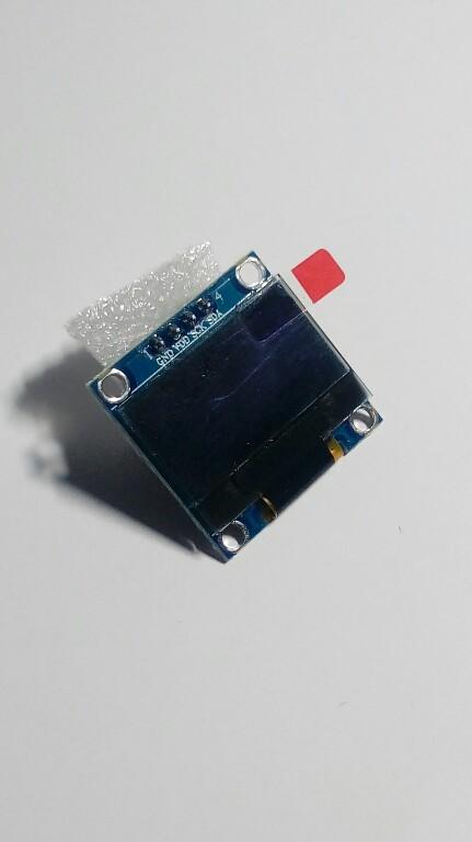 """Wyświetlacz OLED 0,96"""" Biały Arduino I2C"""