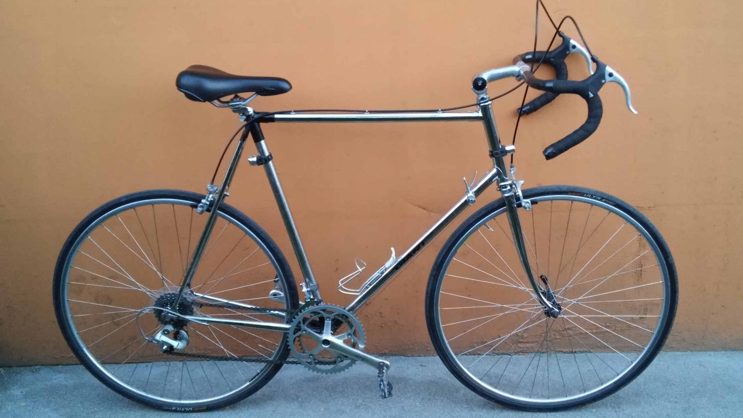 Rower szosowy GIANT cr-mo Shimano 600 Ultegra !!!
