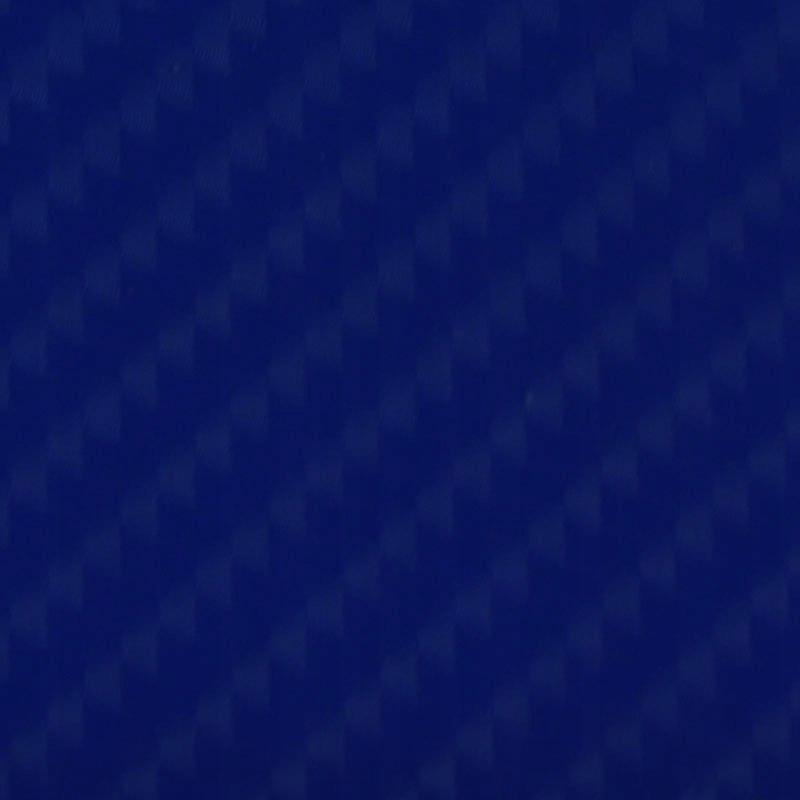 Folia odcinek carbon 4D niebieska 1,52x0,1m