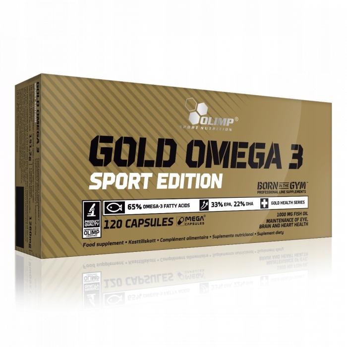 Olimp - Gold Omega 3 120kap SPORT EDITION EPA DHA