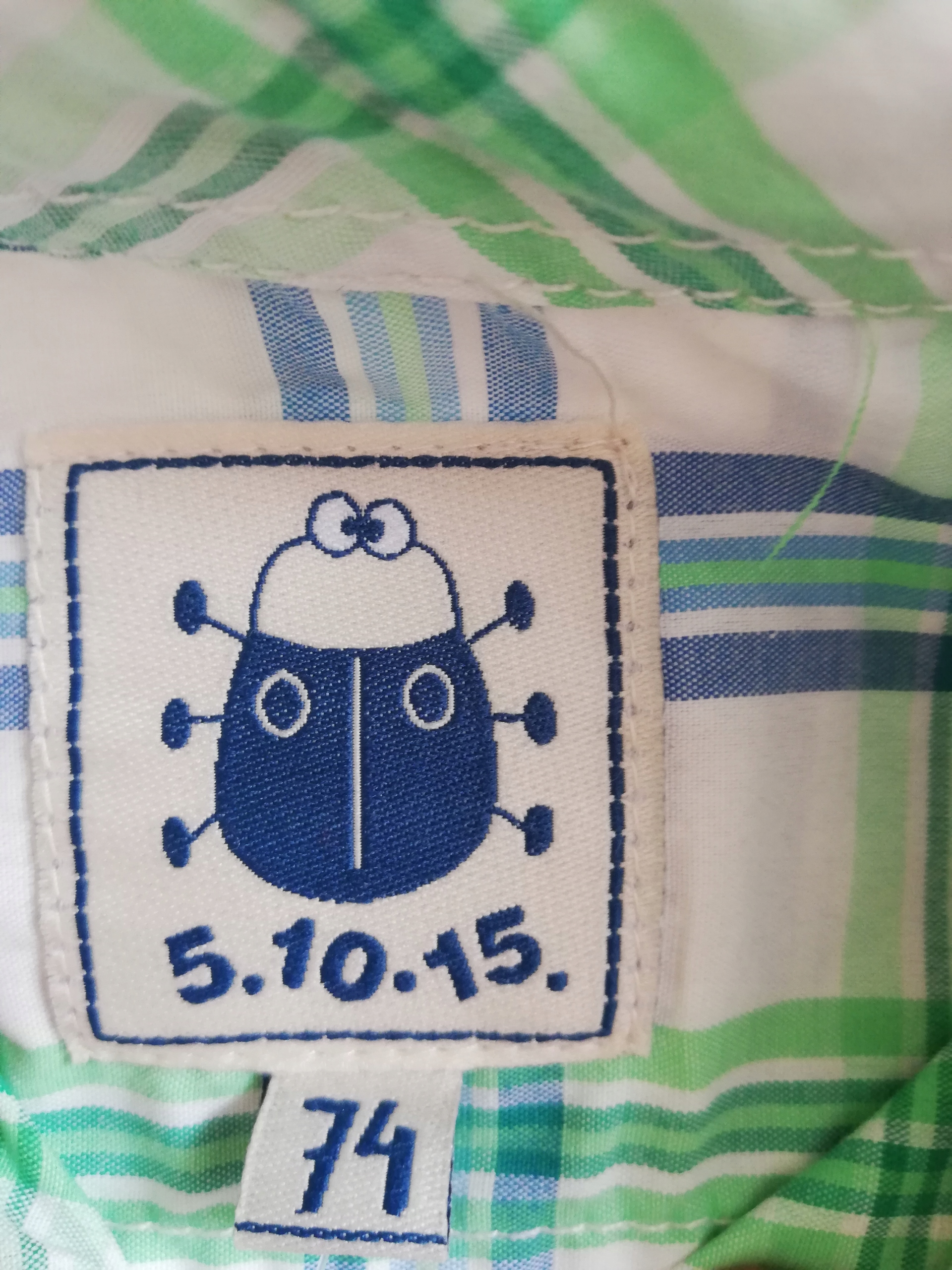 Koszula 5 10 15 dziecko 74