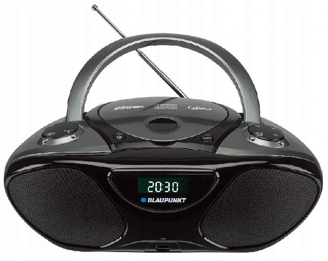 Przenośny radioodtwarzacz BB14 BK CD MP3 USB AUX