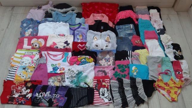 128 firmowy zestaw 7-8 dziewczynka paka rzeczy ZIM