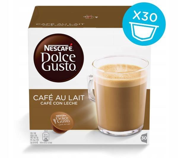 Kawa Nescafe Dolce Gusto CAFE AU LAIT 30 kapusłek