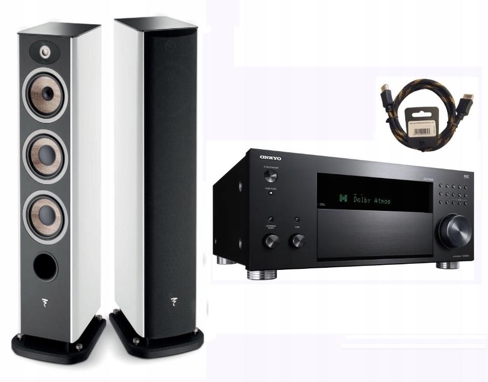 FOCAL ARIA 926 + ONKYO TX-RZ830 + kabel HDMI 1,5m