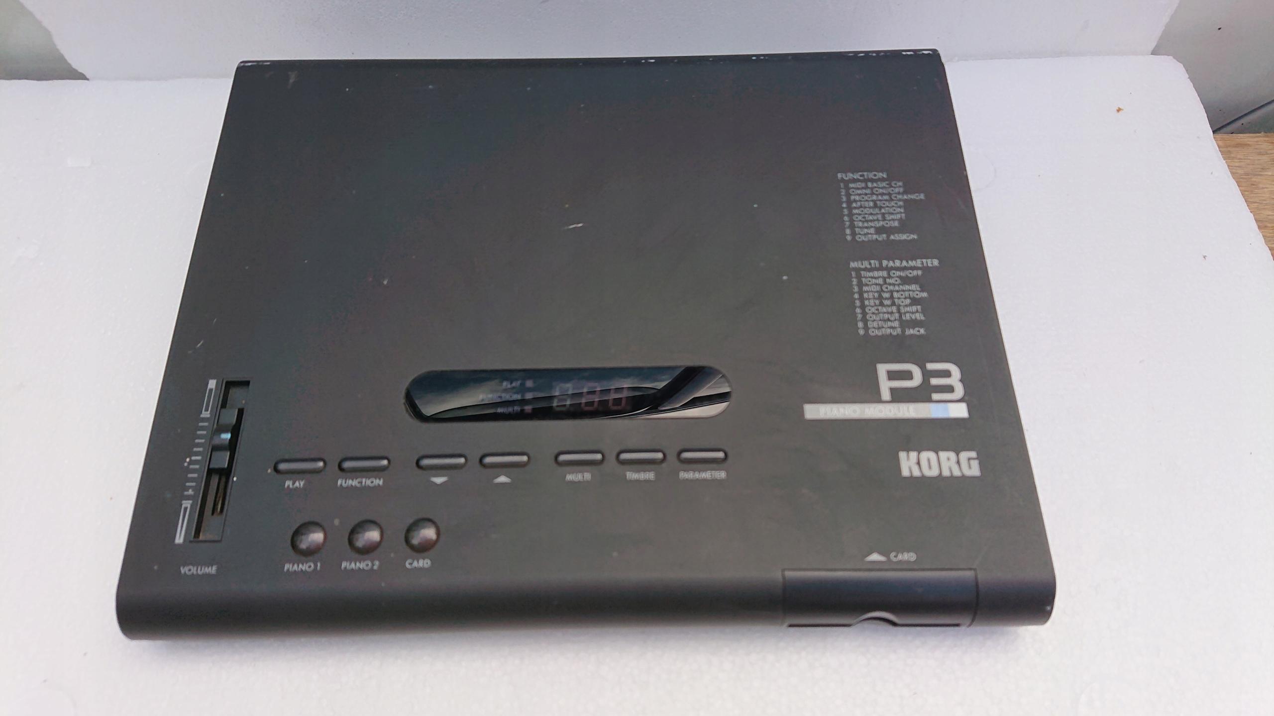 KORG Piano module P3