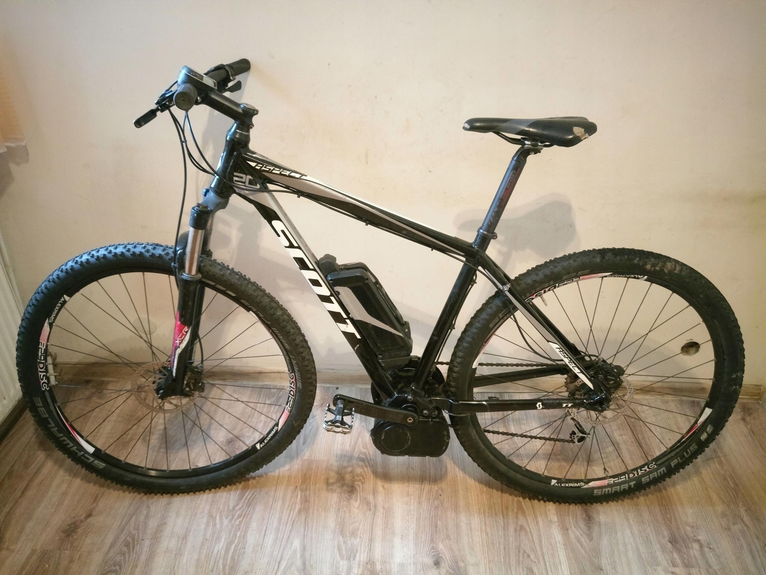 e-bike SCOTT E-ASPECT 920 BCM uszkodzony