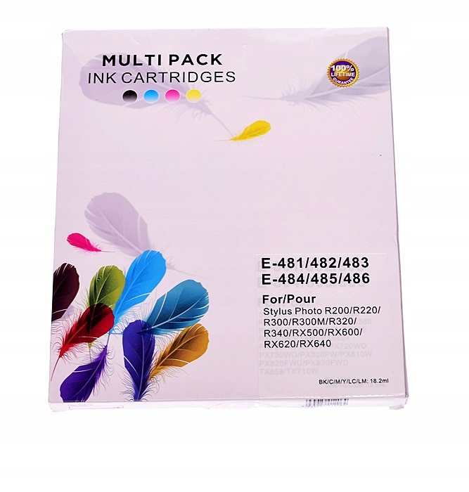5774-10 ....MULTIPACK INK CARTRIDGES... TUSZE