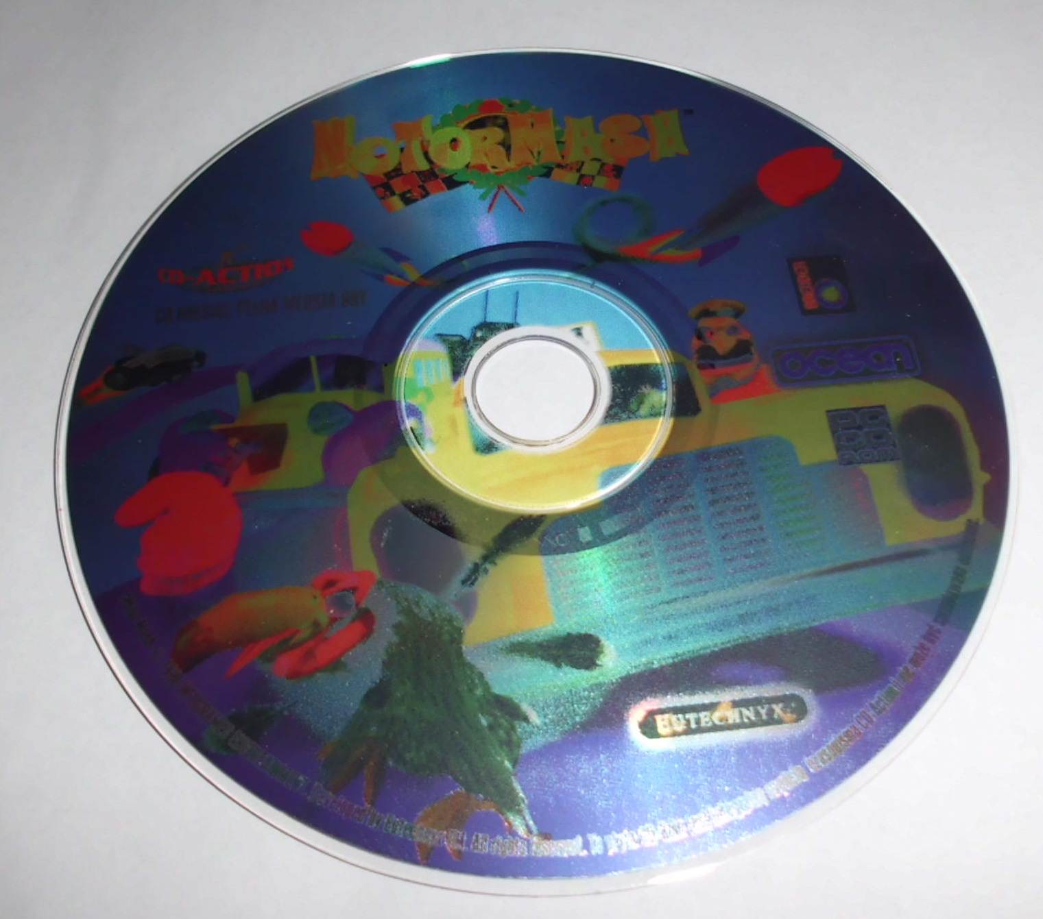 MOTOR MASH (PC CD)