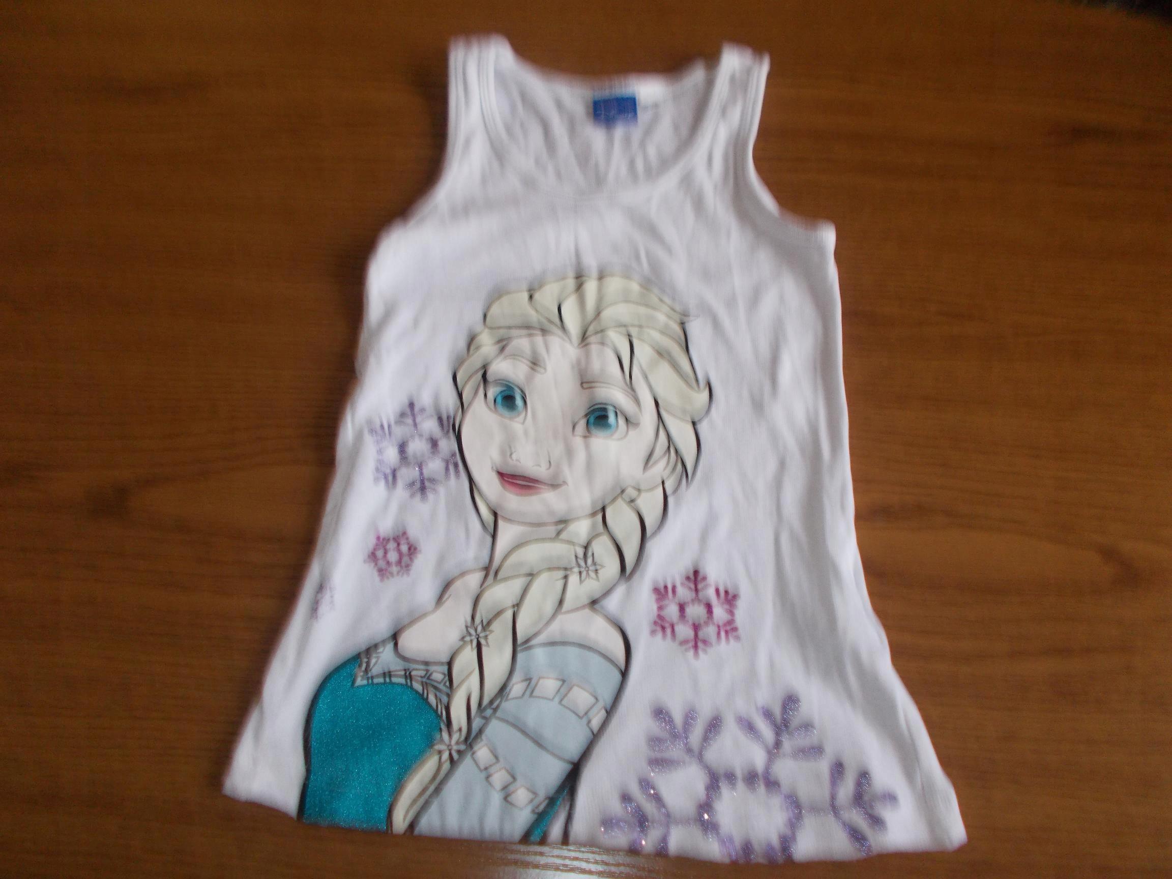 Disney top bluzeczka z Elsą 122cm