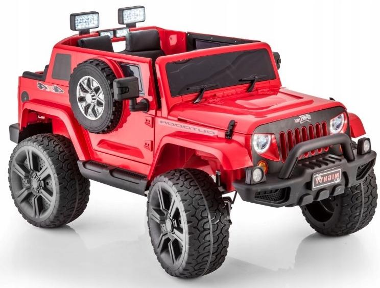 Auto na Akumulator Jeep HL1668 4x4 MP3 Czerwony ln