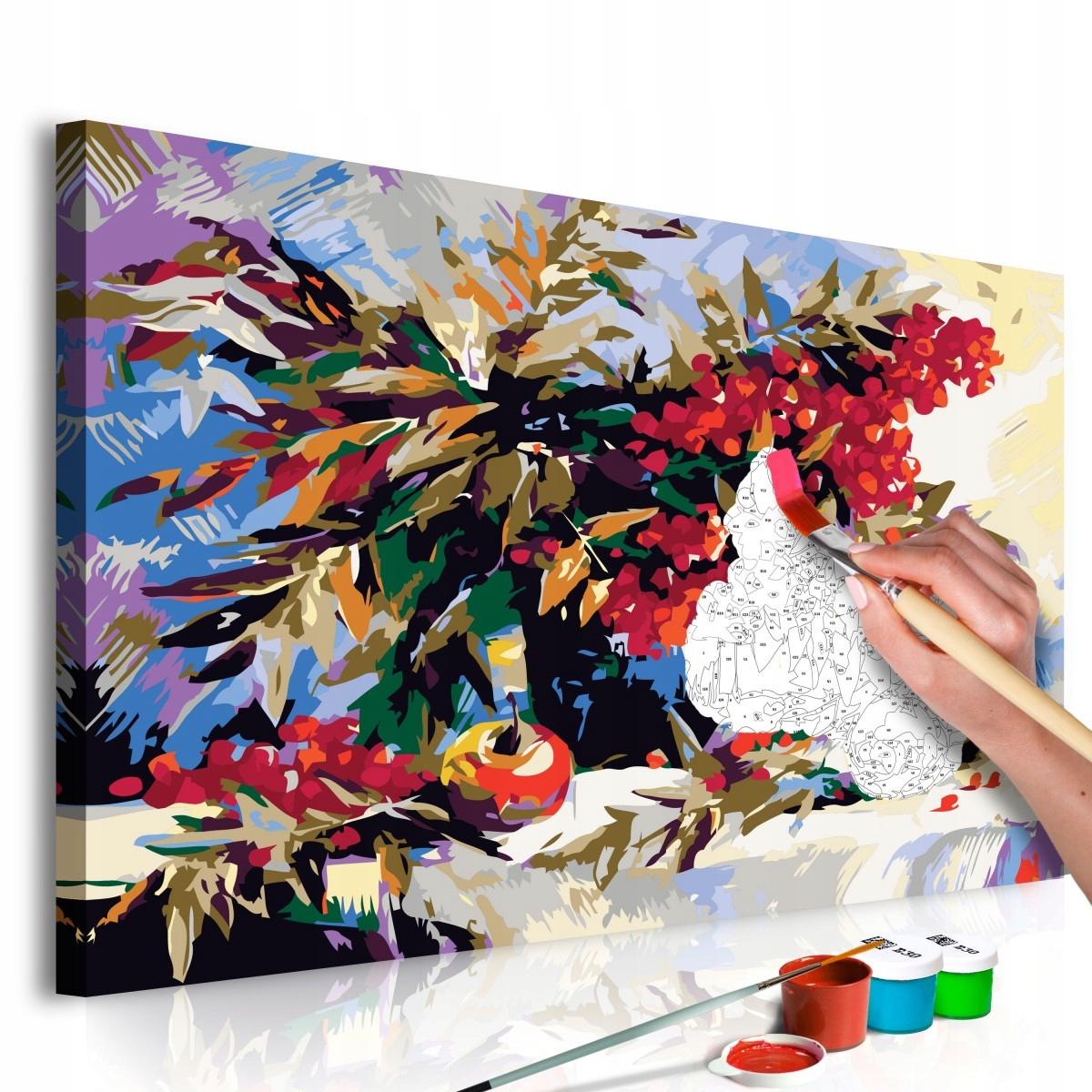 Obraz do samodzielnego malowania - Jarzębina (mart