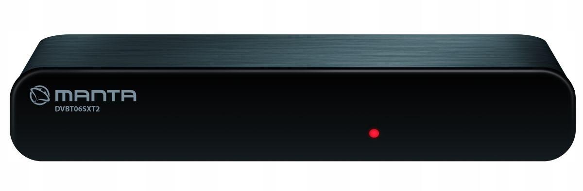 Tuner DVB-T/T2 Manta odbiór naziemnej TV cyfrowej