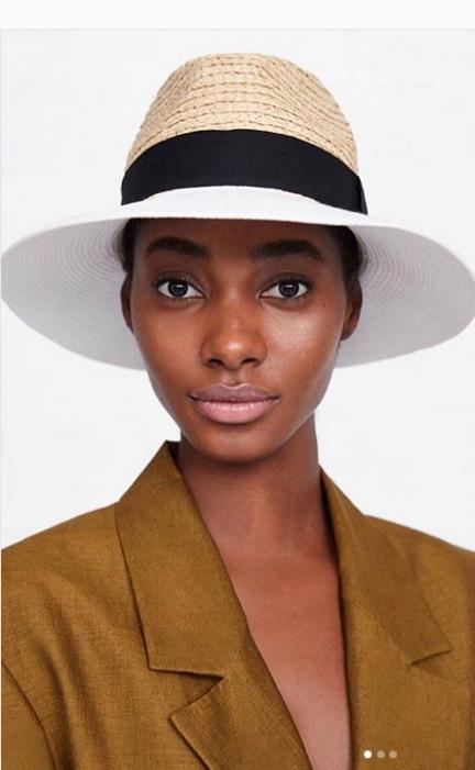 Piękny elegancki kapelusz ZARA Ponadczasowy styl