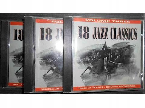 18 Jazz Classics 3 części - CD album