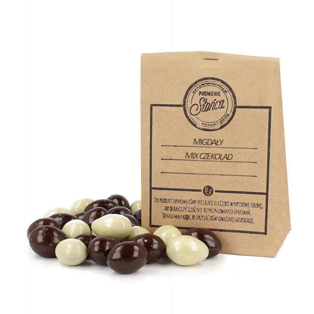 Migdały mix czekolad 1000g - SUPER JAKOŚĆ