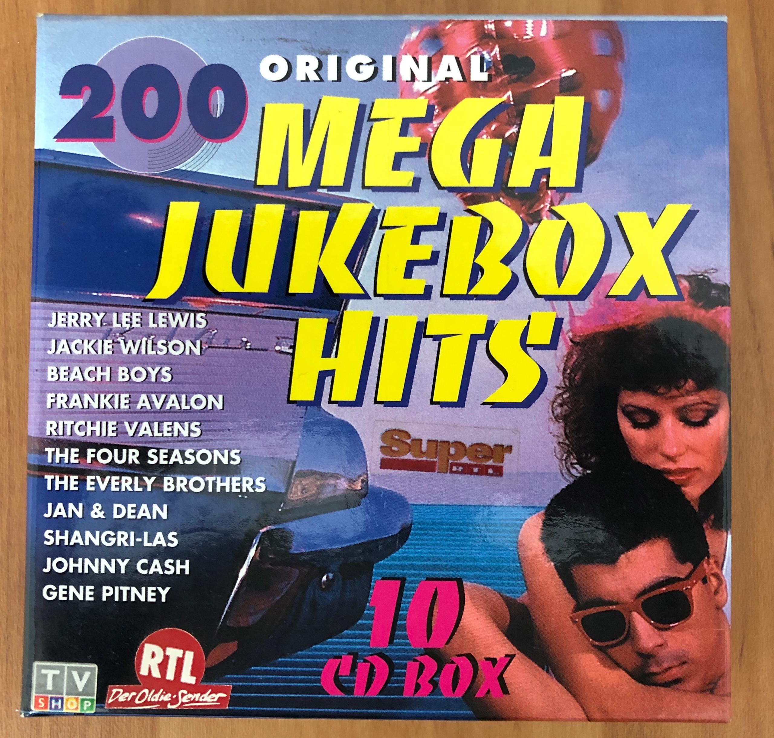 Original 200 Mega Jukebox Hits - 10 CD