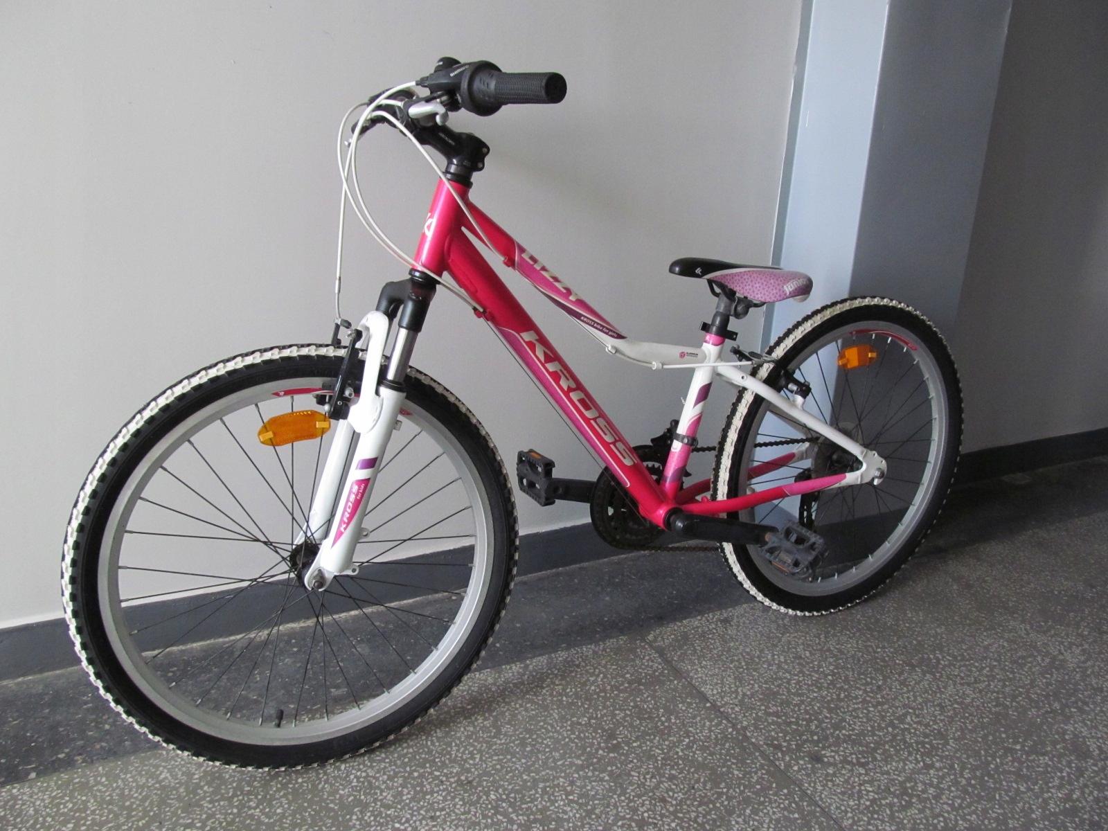 """Rower Kross 24"""" dla dziewczynki lekki nowy"""