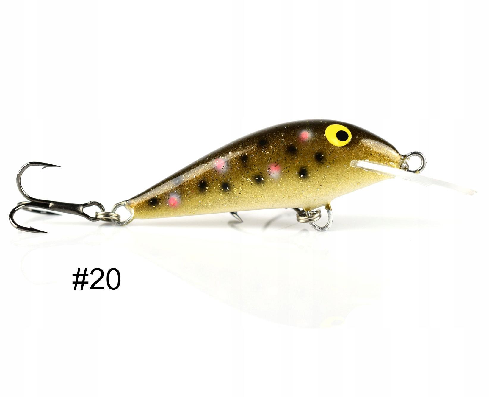 Siek Kat wobler pływający 4,5cm 2,5g kolor 20