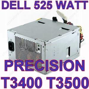 ZASILACZ DELL PRECISION T3400 T3500 NSP-525AB A - 7814774806
