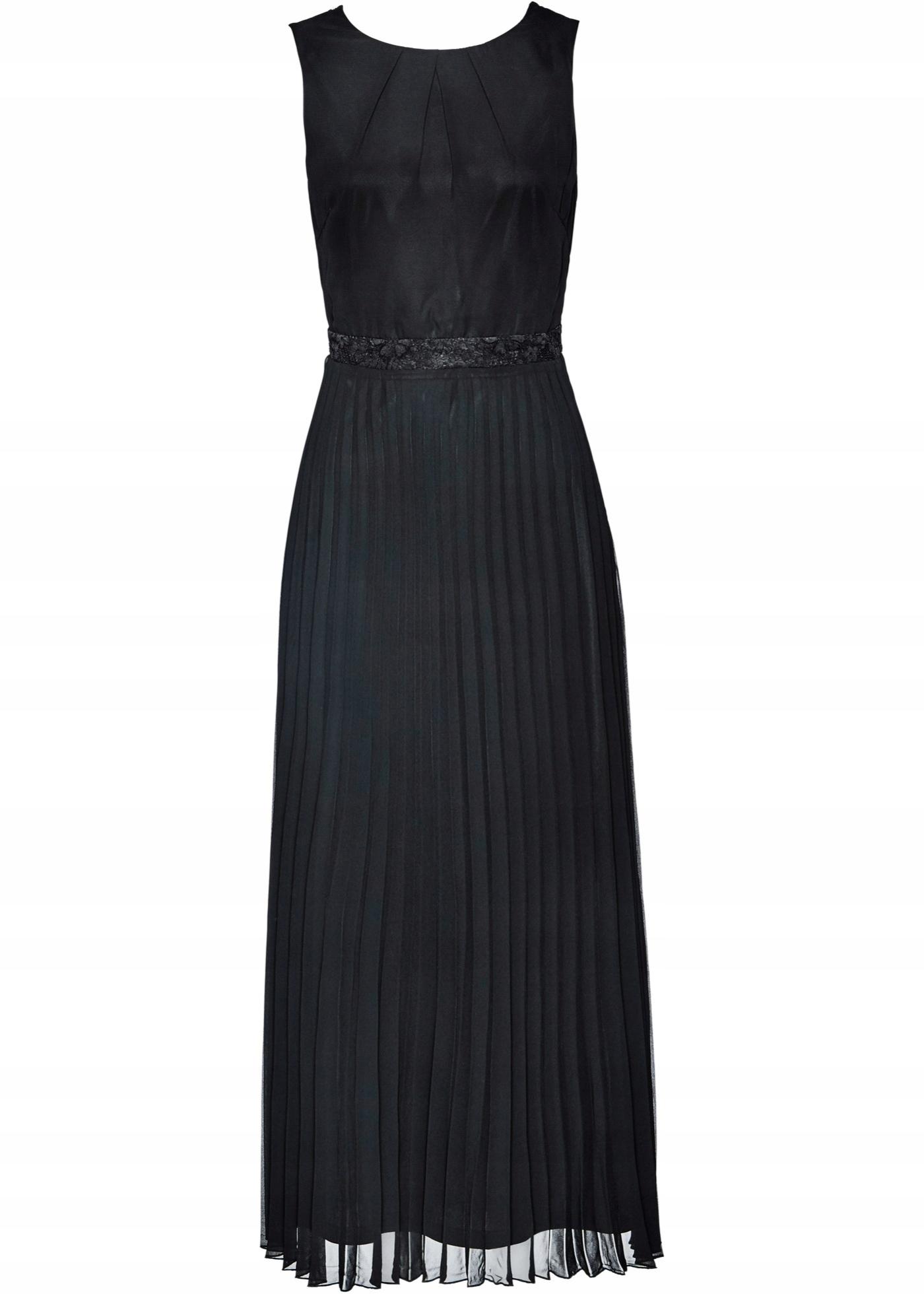 f0b9970977cfaa N371 BPC Sukienka z plisowaną spódnicą WESELE r.52 - 7614746559 ...