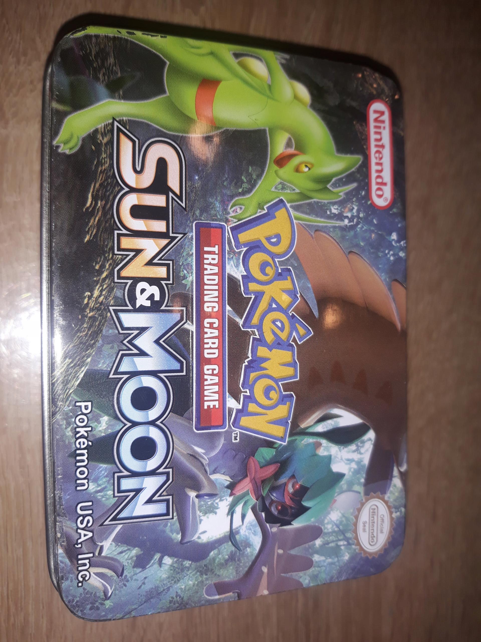 Pudełko Pokemon stalowe !