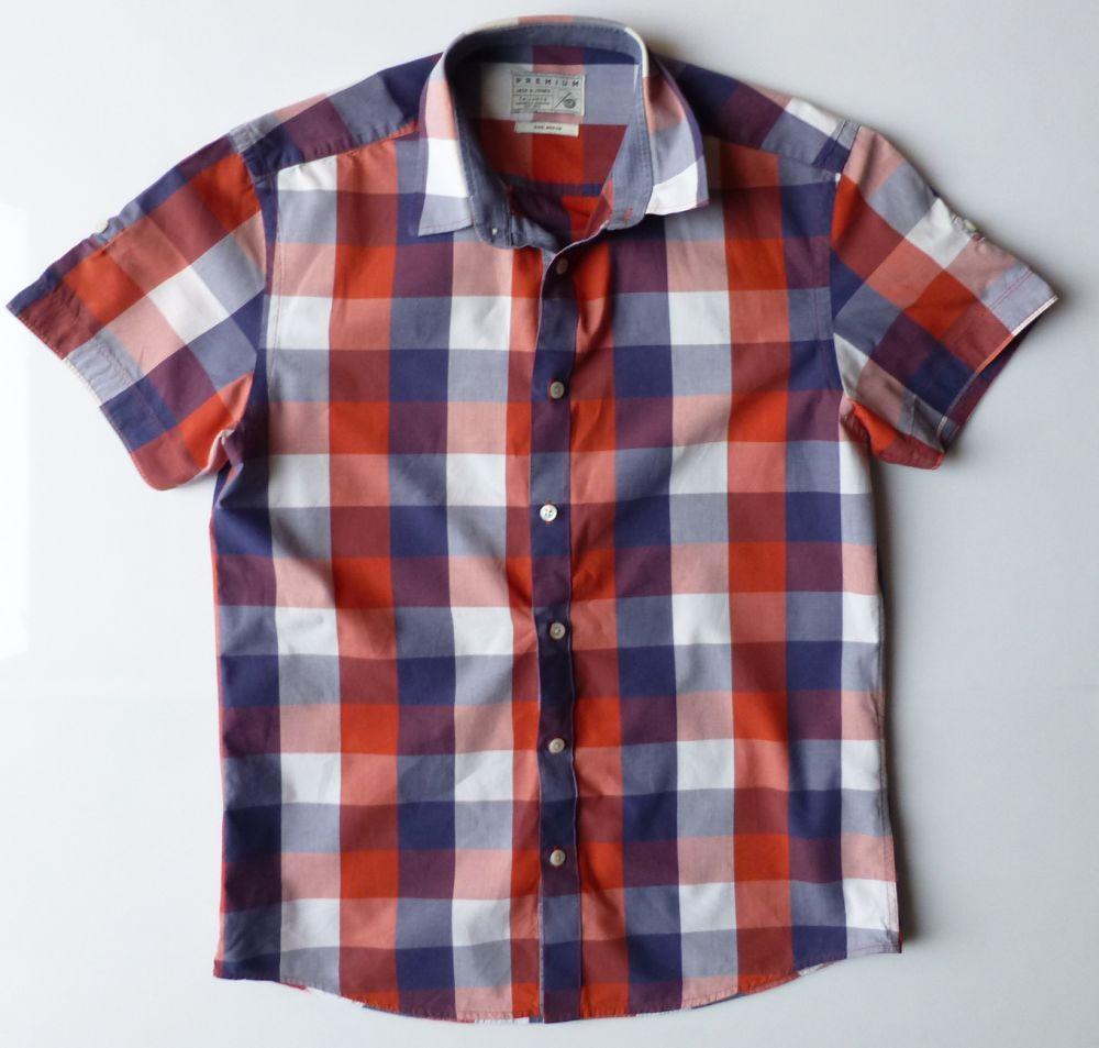 Koszula męska z krótkim rękawem JACK & JONES M