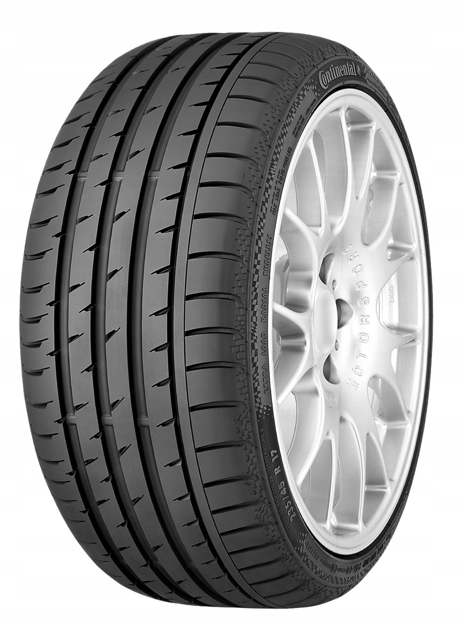 1x Continental ContiSportContact 3 195/45 R16 80V