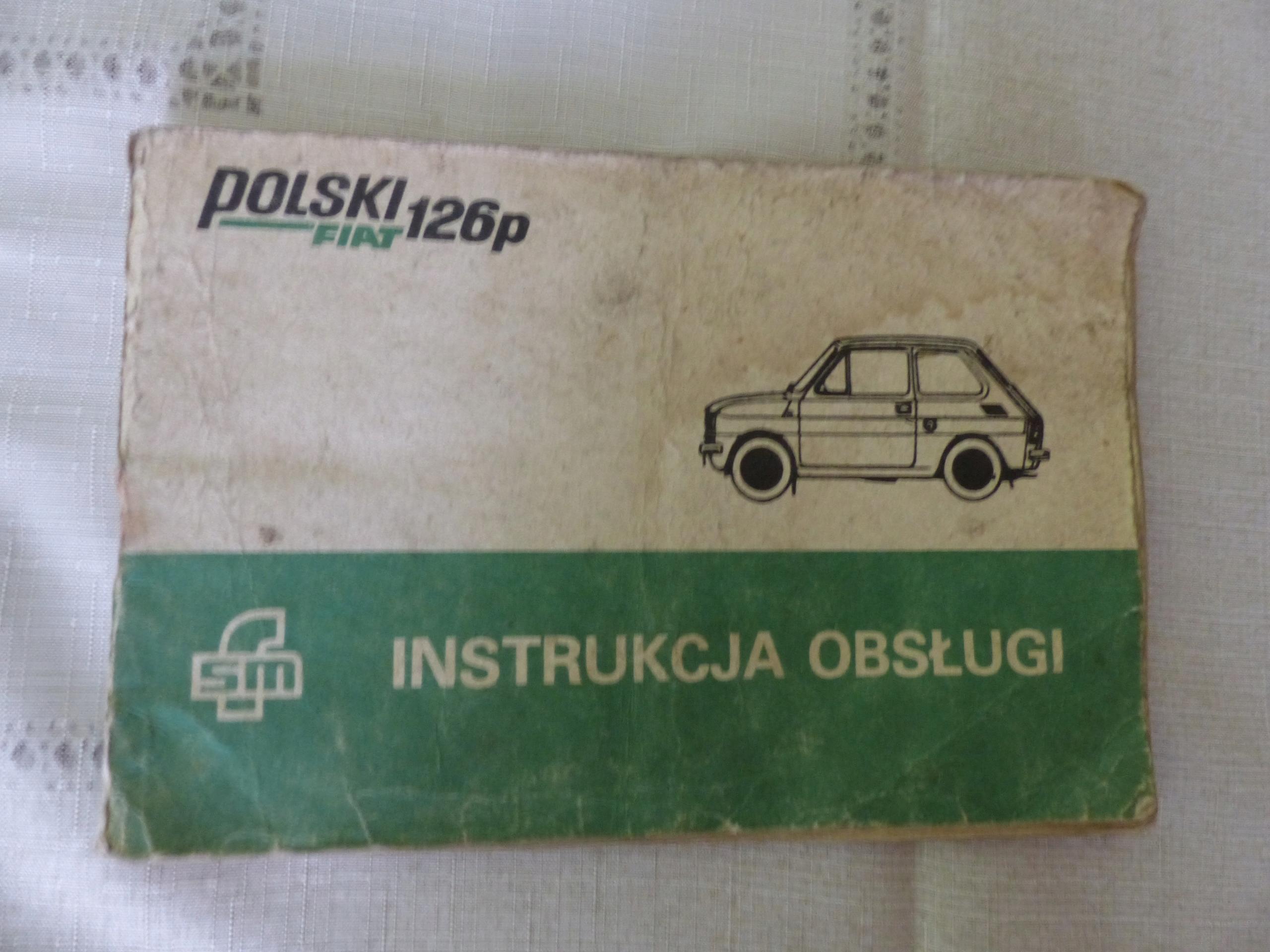 Fiat 125 p instrukcja 1985 r