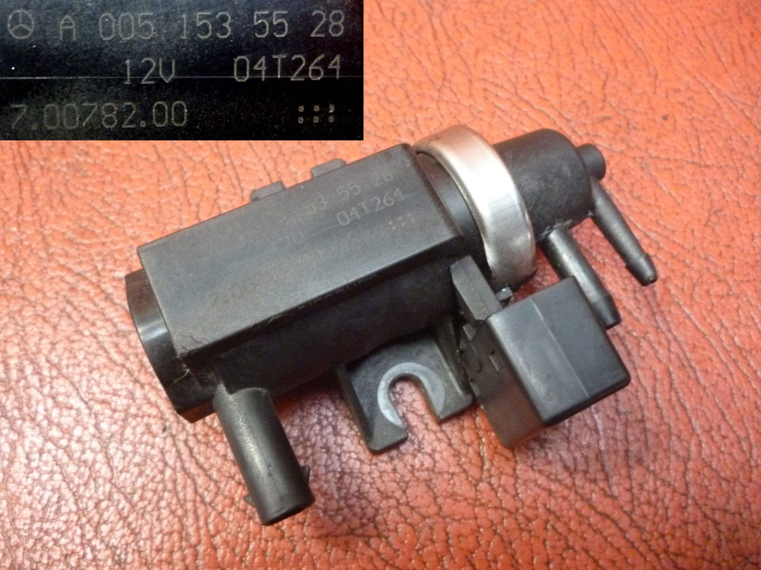 Elektrozawór Mercedes 1.5 DiD 1.8 CDI A0051535528