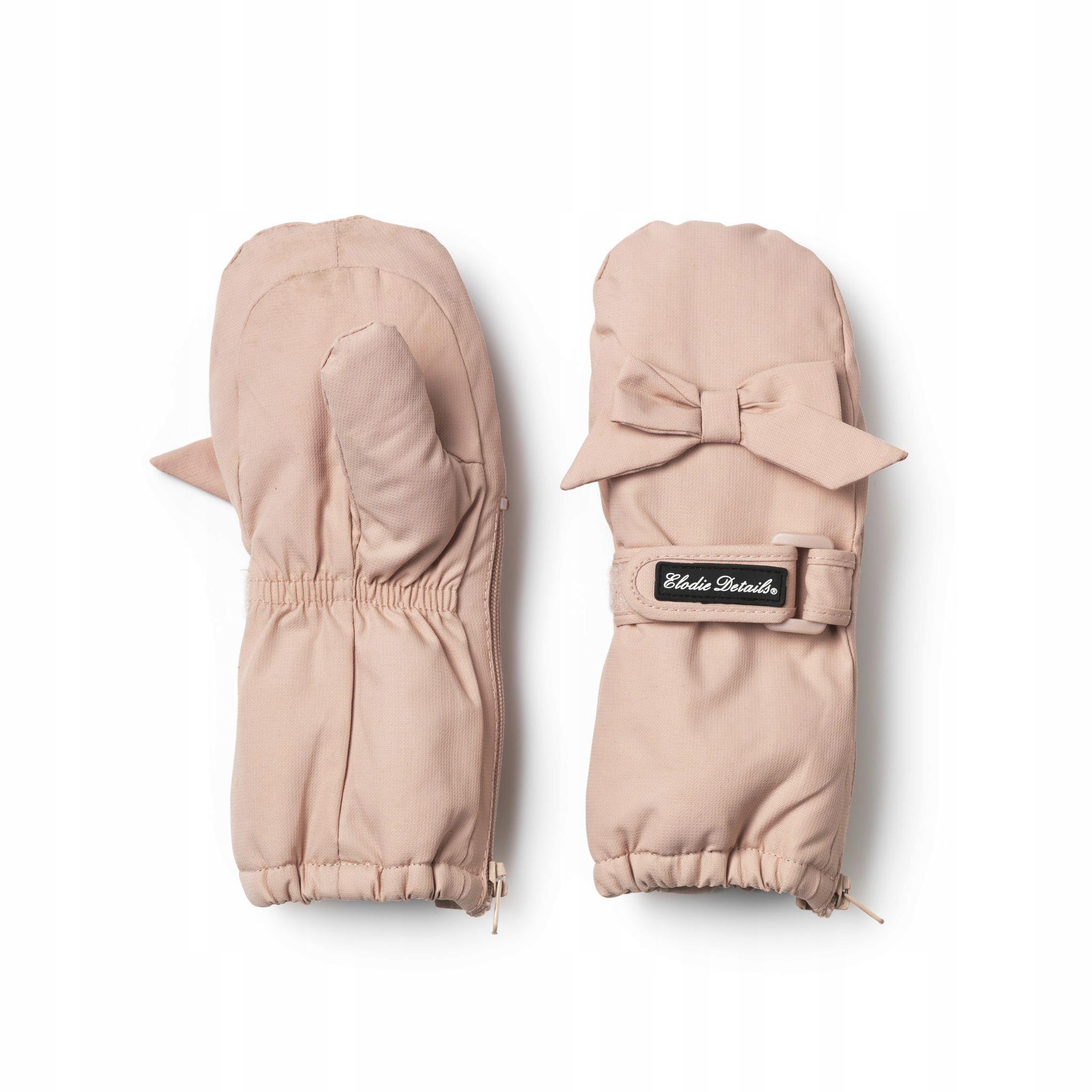 Elodie Details rękawiczki Powder Pink 12-36 m-cy