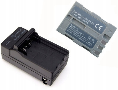 *Akumulator EN-EL3e do Nikon + ładowarka ZESTAW FV