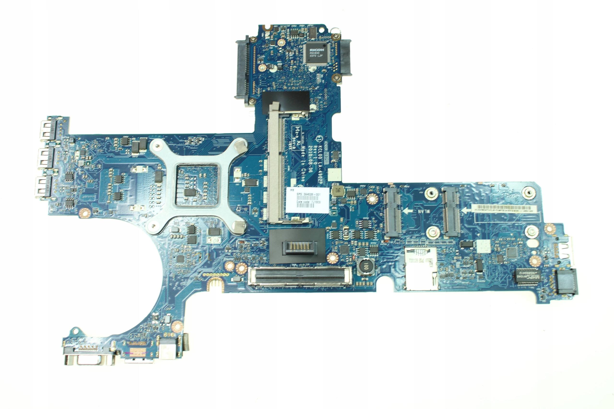 Płyta główna KCL00 LA-4902p HP EliteBook 8440p