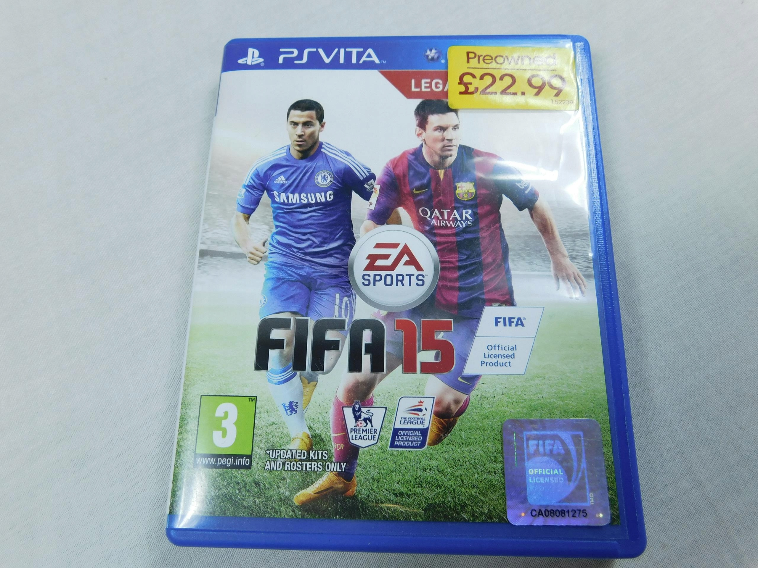 EA SPORTS gra na konsolę PS VITA fifa 15