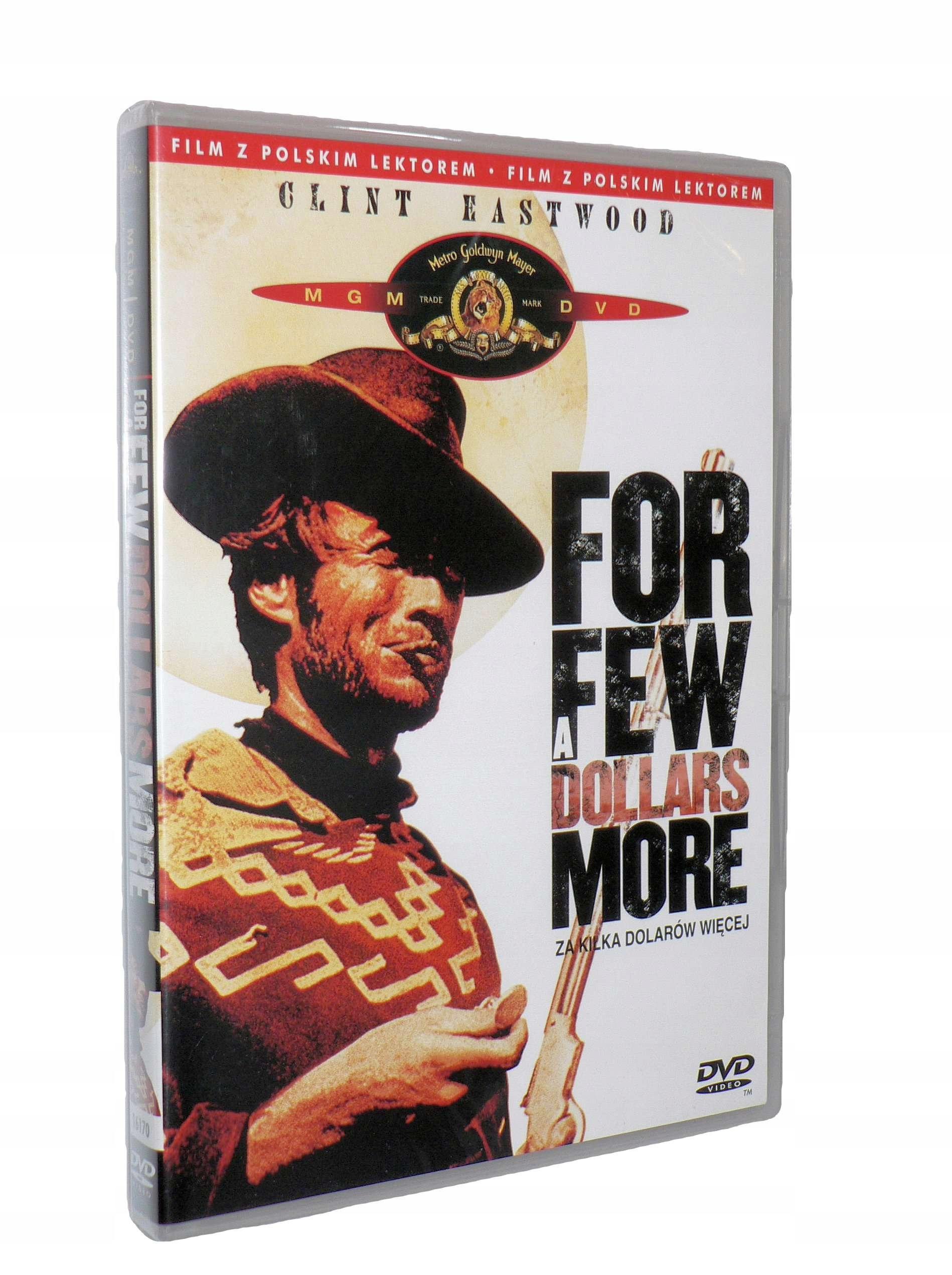 DVD - ZA KILKA DOLARÓW WIĘCEJ- nowa folia lektor