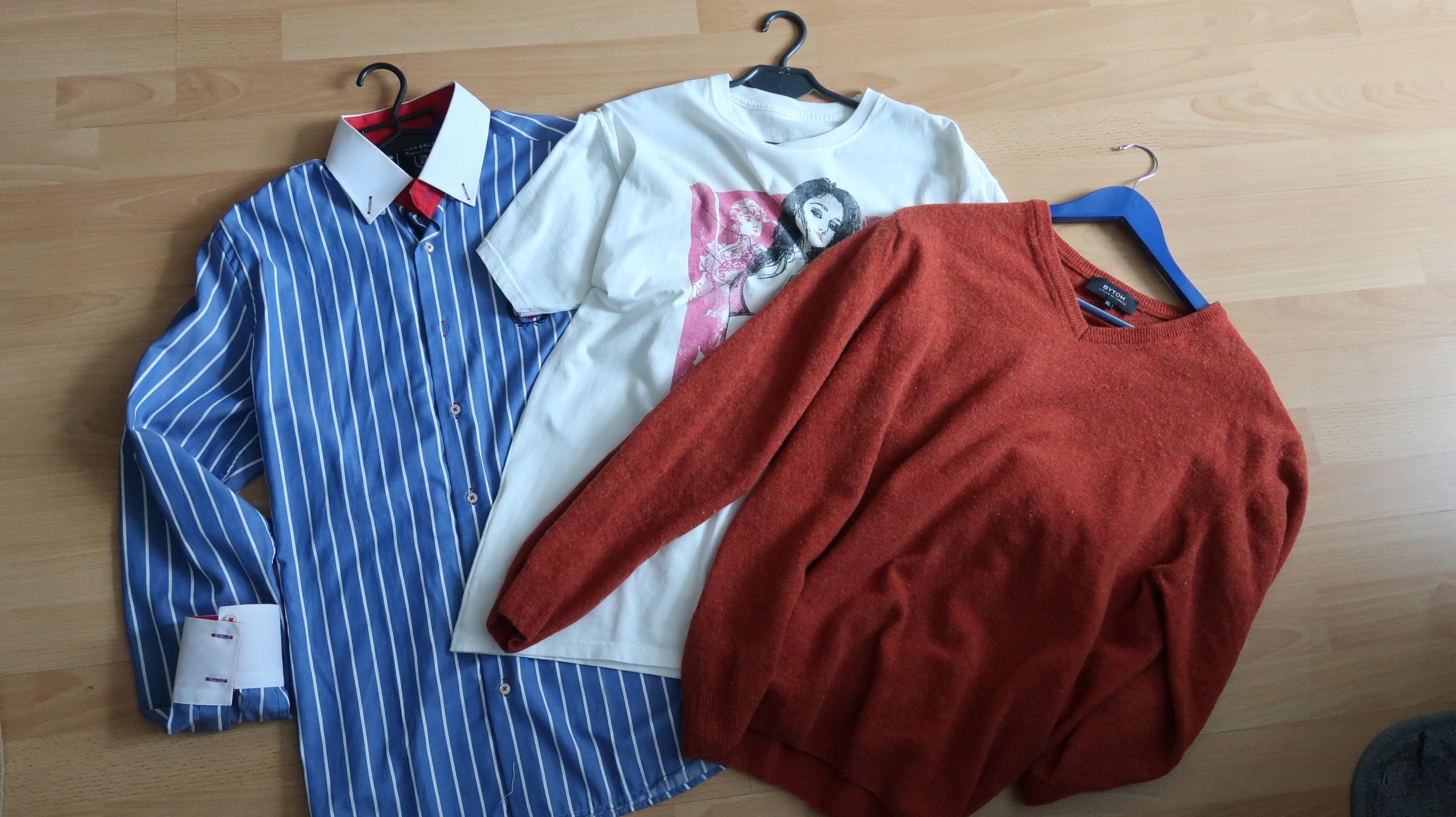 zestaw ubrań L-XL 1