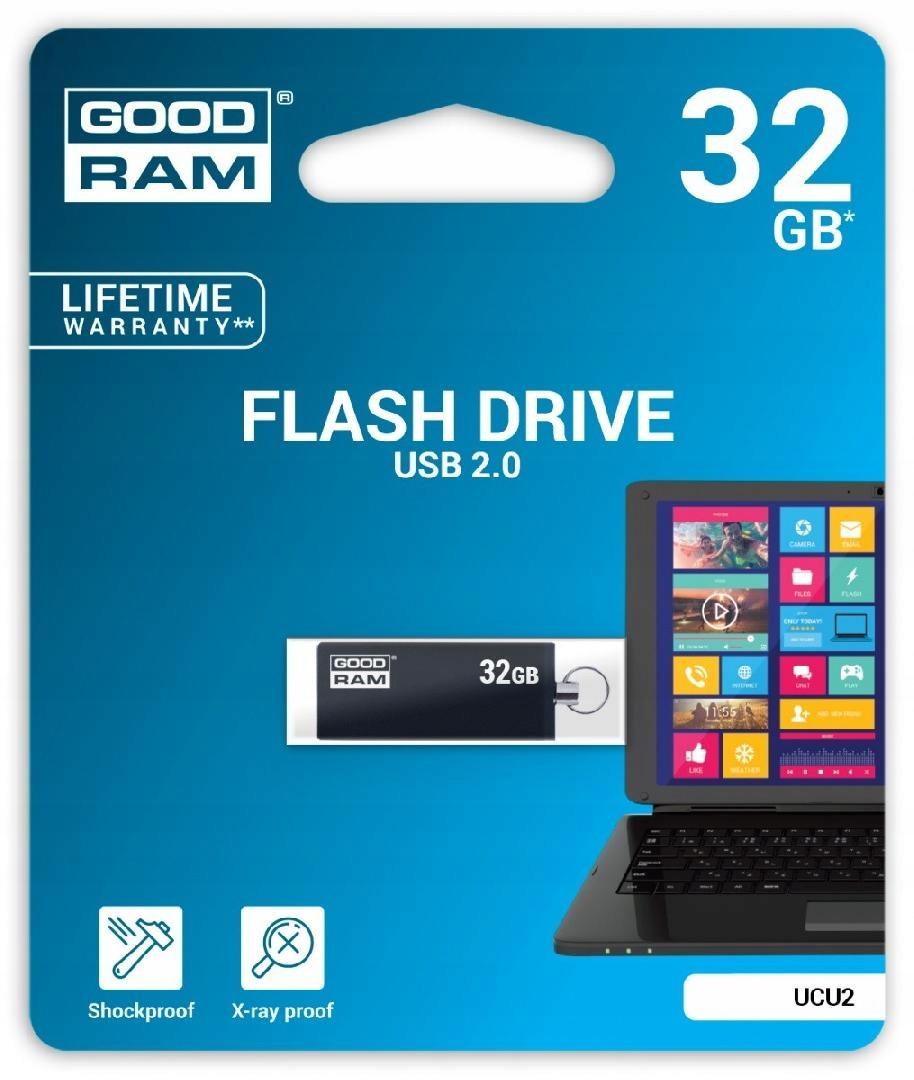 GOODRAM CUBE 32GB USB2 BLACK