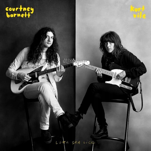BARNETT COURTNEY & KURT VILE Lotta Sea Lice