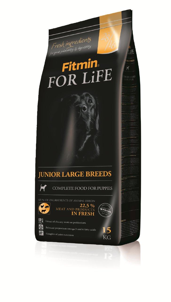 Fitmin For Life Junior Large 15kg + GRATISY