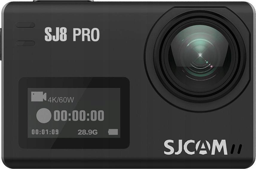 Kamera sportowa SJCAM SJ8 PRO 4K/60FPS 24h PL