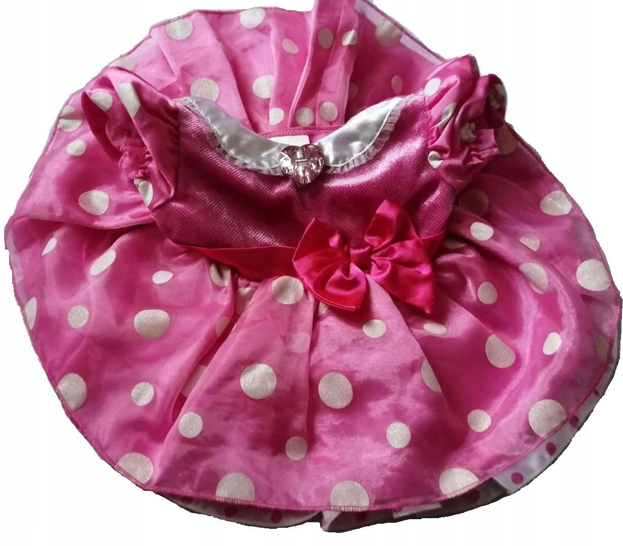 Sukienka Myszka Minnie 80 cm Disney