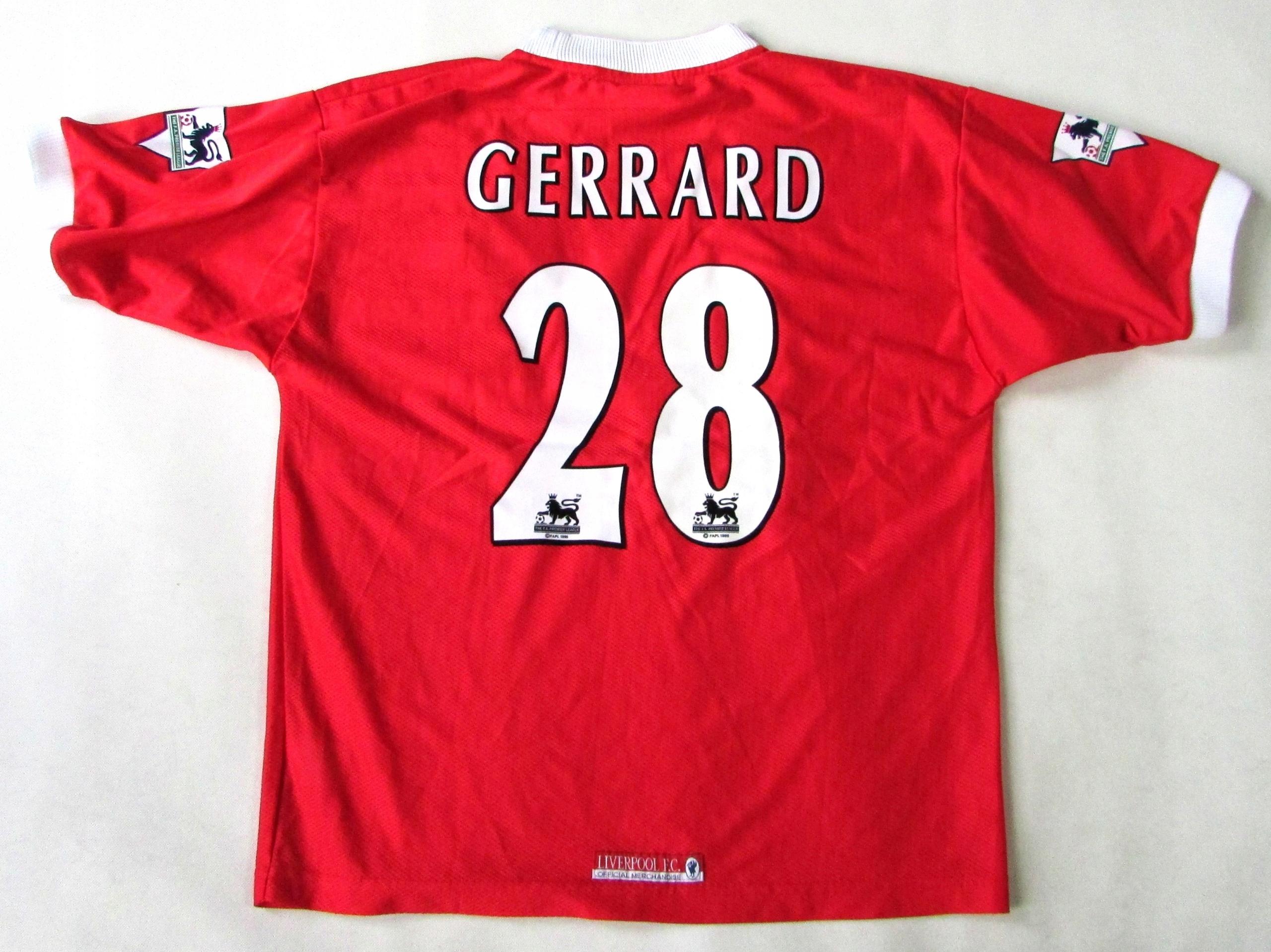 LIVERPOOL FC_Oficjalna_S. GERRARD__1998-2000_IDEAŁ