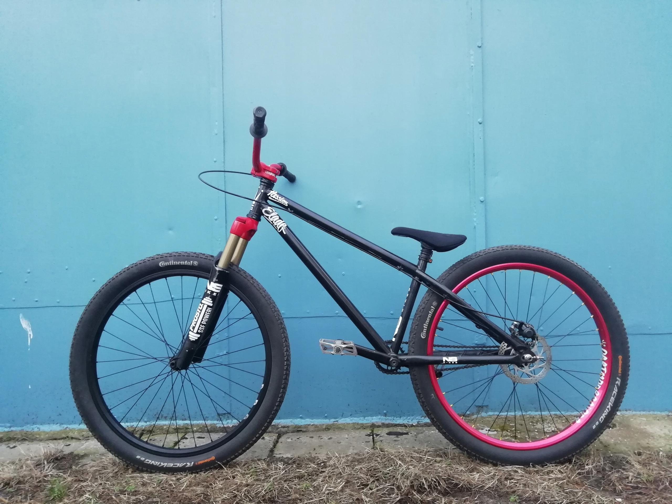 "Rower Dirt 26"" NS Bikes Dartmoor Marzocchi"